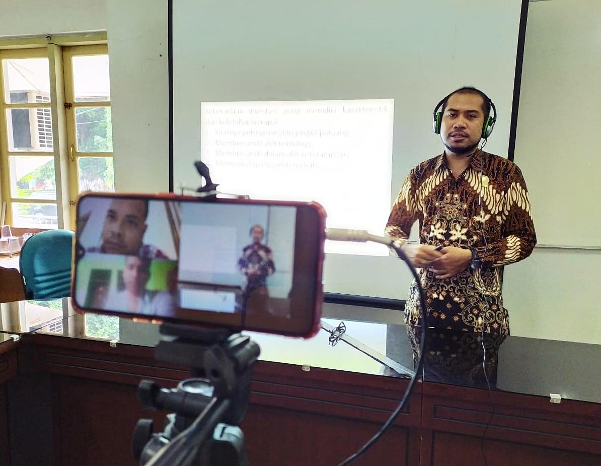 Gegara Corona, Widya Mataram Terapkan Pembelajaran Jarak Jauh