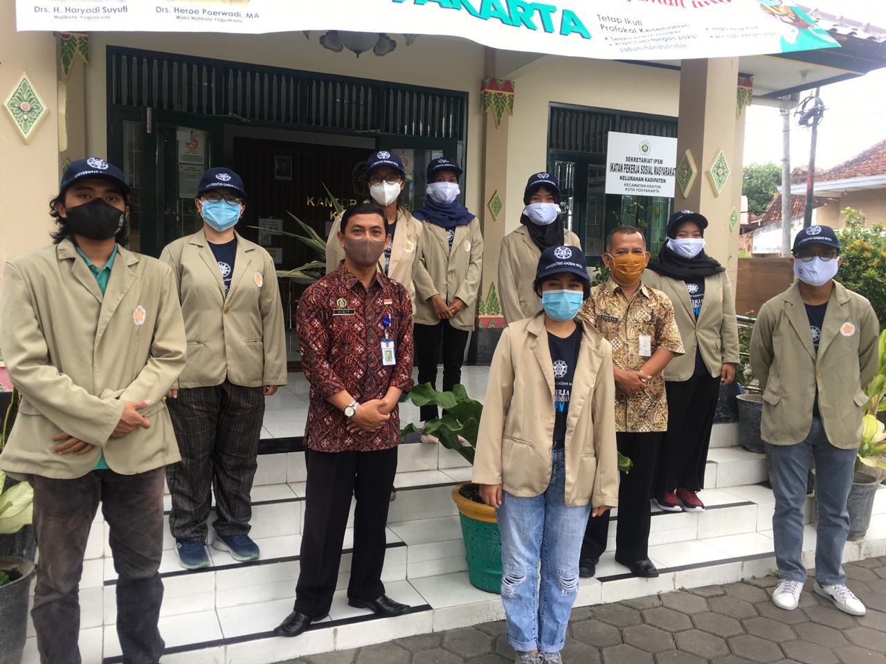 Mengabdi di Tengah Pandemi, Tim KKN-PPM UGM Diterjunkan ke Kadipaten