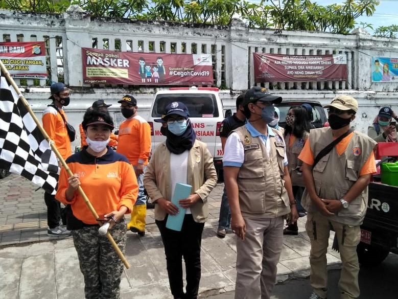 Relawan se-Kecamatan Kraton gelar Giat Bersama Penanganan COVID-19