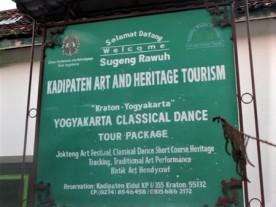Kadipaten Art and Heritage Tourism