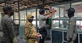 Penegakan PPKM Darurat di Wilayah Kelurahan Kadipaten