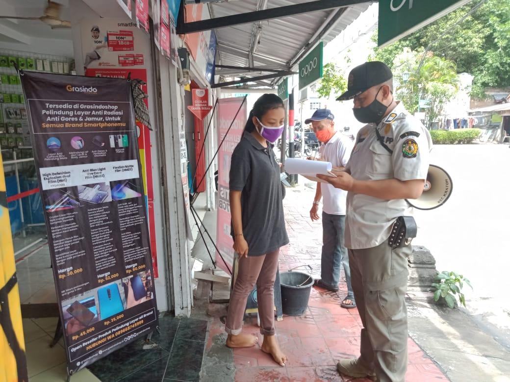 Penegakan Protokol Kesehatan Jl. Kadipaten & Jl. Polowijan - 6