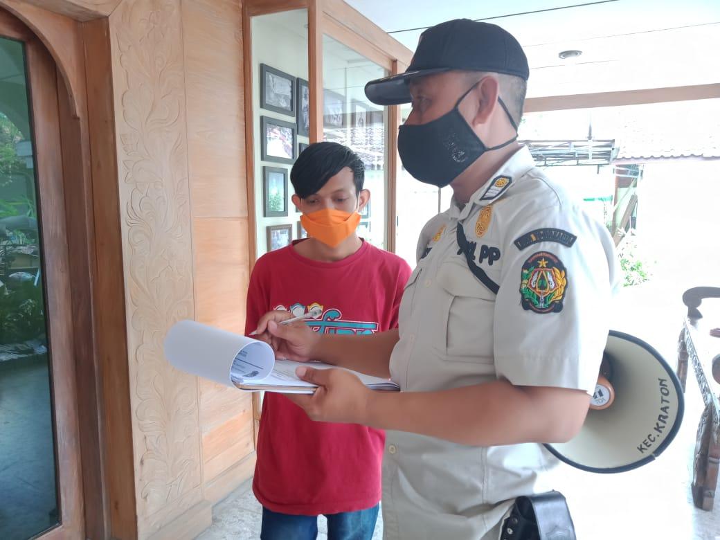 Penegakan Protokol Kesehatan Jl. Kadipaten & Jl. Polowijan - 9